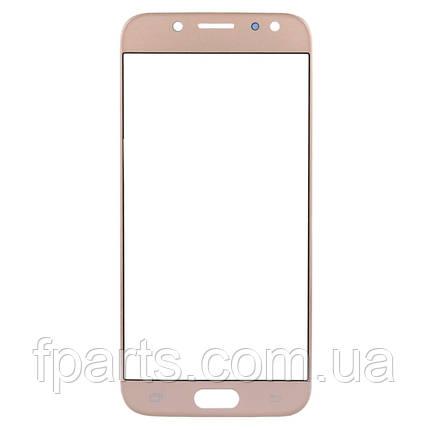 Стекло дисплея Samsung J330 Galaxy J3 2017, Gold, фото 2