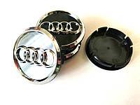 Колпачки в диски AUDI (60/55мм,объемные)