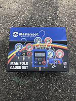 Манометрический коллектор Mastercool для R134A, (Комплект со шлангами и муфтами)