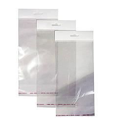Пакет с еврослотом для упаковки фольги 21х13см + клапан (100 шт)