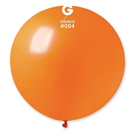 "Куля 31"" (80 см) Gemar пастель 04 помаранчевий (Джемар), фото 2"