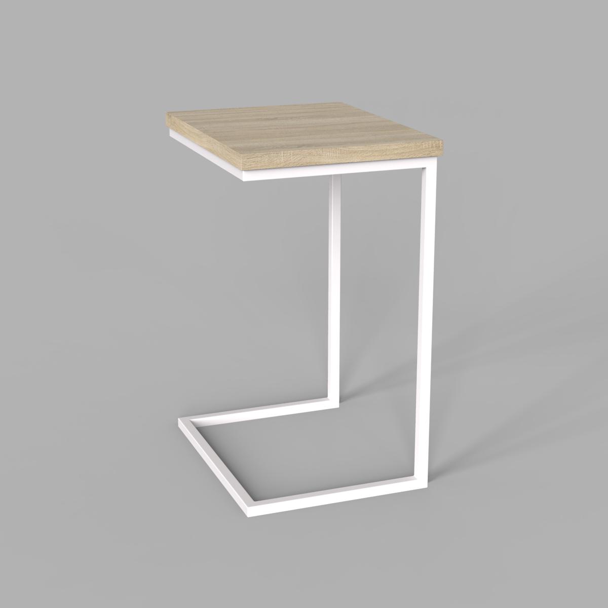 "Стол трансформер ""Fiji Mono"" сонома/белый"