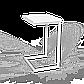 """Стол трансформер """"Fiji Mono"""" сонома/белый, фото 2"""