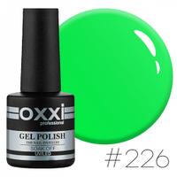Гель-лак Oxxi Professional №226 яркий салатовый, 10 мл