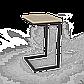"""Стол трансформер """"Fiji Mono"""" сонома/белый, фото 5"""
