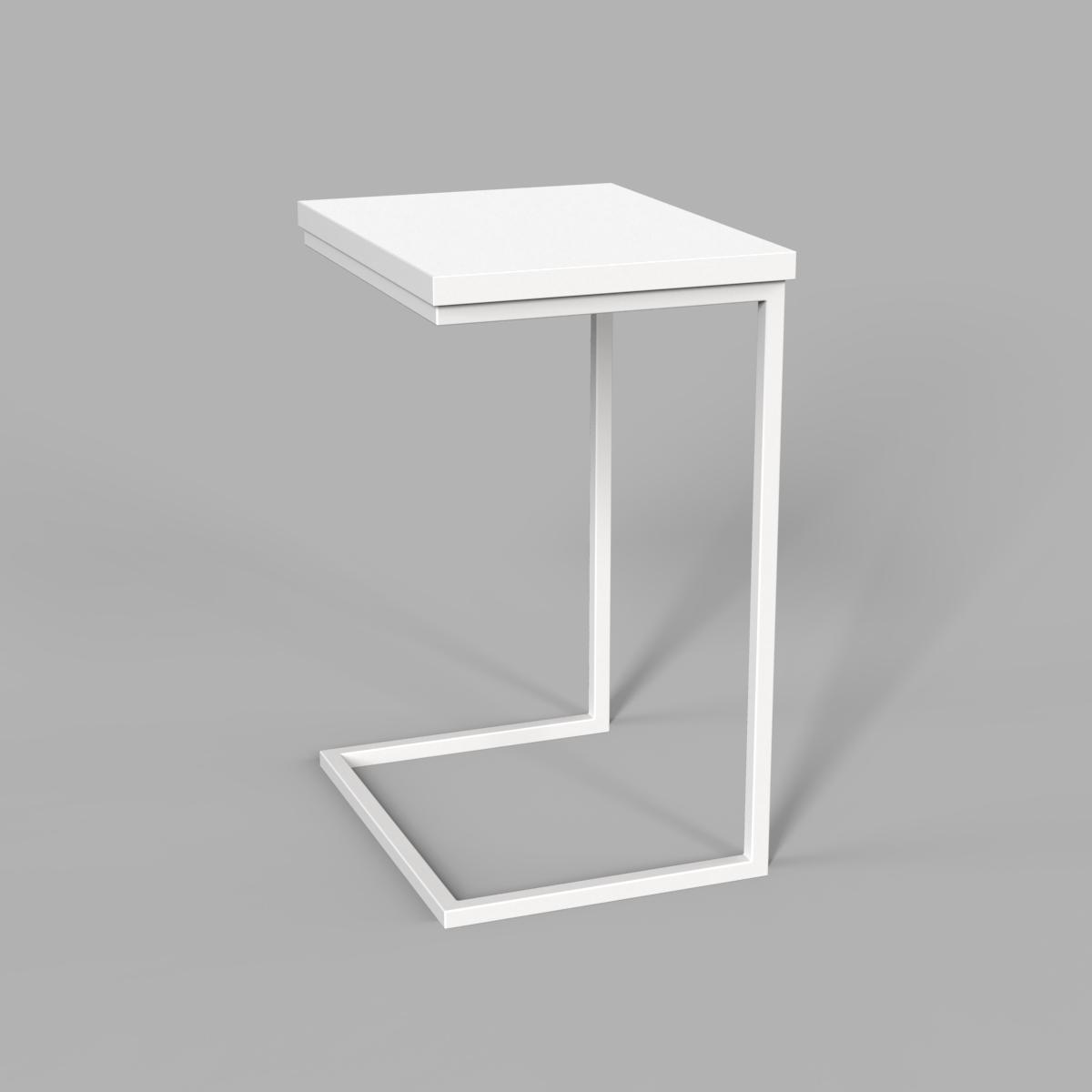 "Стол трансформер ""Fiji Mono"" нимфея/белый"