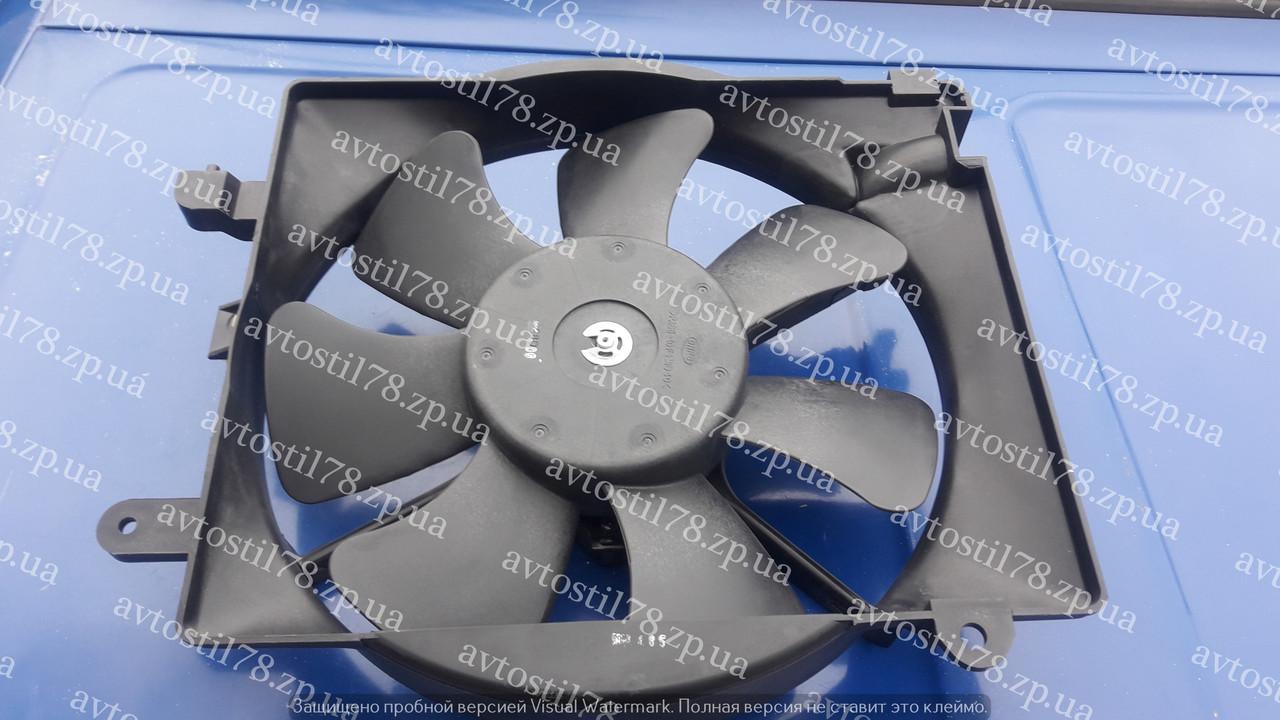 Вентилятор охлаждения с диффузором в сборе Матиз GM 96314167