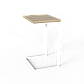 "Стол трансформер ""Fiji Mono"" нимфея/белый, фото 5"