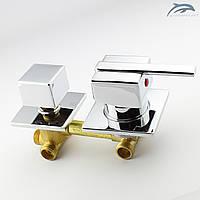 Смеситель для душевой кабины, гидромассажного бокса GK 3 - 100 мм.