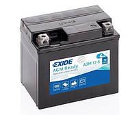 Мото аккумулятор EXIDE AGM12-5