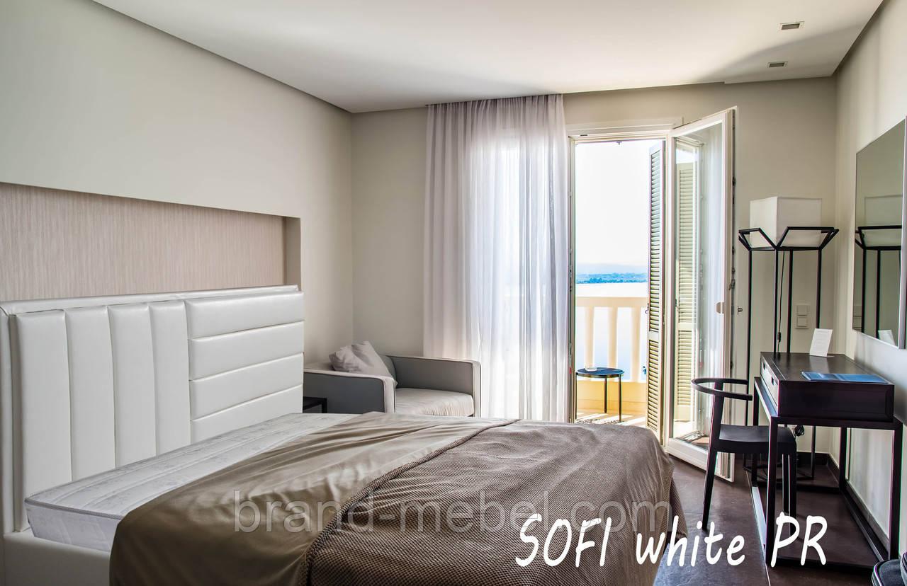 Ліжко двоспальне у м'якій оббивці SOFI / Кровать двуспальная в мягкой обивке SOFI