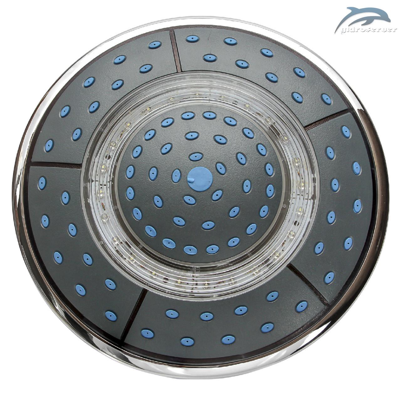 Озера верхнього душу для душової кабіни, гідробоксу L - 250 Lamp з підсвічуванням.