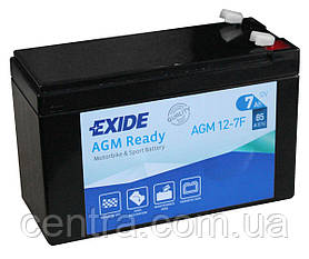 Мото аккумулятор EXIDE AGM12-7F