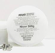 Сплав Nicor для коронок та мостів (0,5 кг)