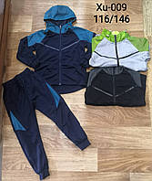 Трикотажный костюм для мальчиков, KeYiQi , 116-146 рр.