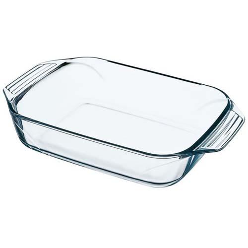 Блюдо для запікання жароміцне скло 3.5 л прямокутна