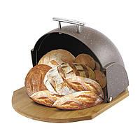 Хлібниця Maestro коричнева (1678GraniteBr MR)