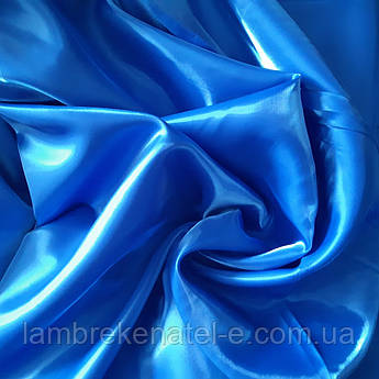 Ткань для штор Монорей сине-голубой цвет