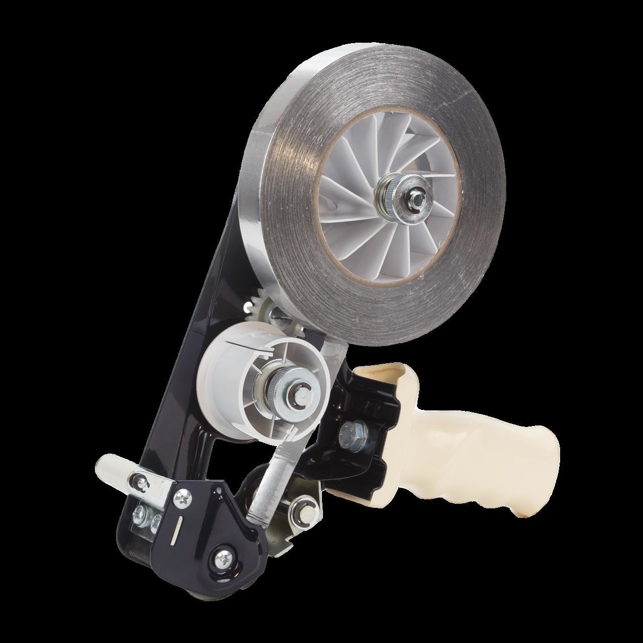 Для алюминиевых лент до 25мм Ø<140 мм - ручной диспенсер