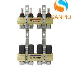 Коллекторный блок Raftec LCR-1.10 с расходомерами и евроконусами