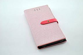 """Чехол-книжка 4you BELT 4,5""""- 4,8"""" pink универсальная"""