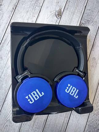 Беспроводные наушники Bluetooth-гарнитура JBL (Copy) by Harman MDR-XB 650 BT STEREO(слот micro SD, кнопки, фото 2