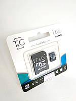 Micro SD 16Gb T&G Class10 c ад. (UHS-1)
