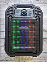 Портативная колонка B15 (Bluetooth, FM, USB, LED дисплей) Black