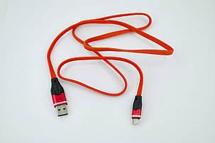 Кабель Usb Micro USB 4you Ros (2100mah, червоний), фото 2