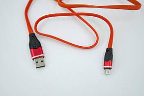 Кабель Usb-cable Micro USB 4you Ros (2100mah, красный) , фото 2