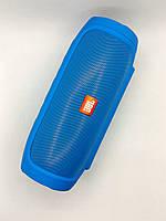 Портативная колонка JBL Charge 4 (Bluetooth, FM, USB, 2 динамика, Soft touch) Blue-Акционная Цена!
