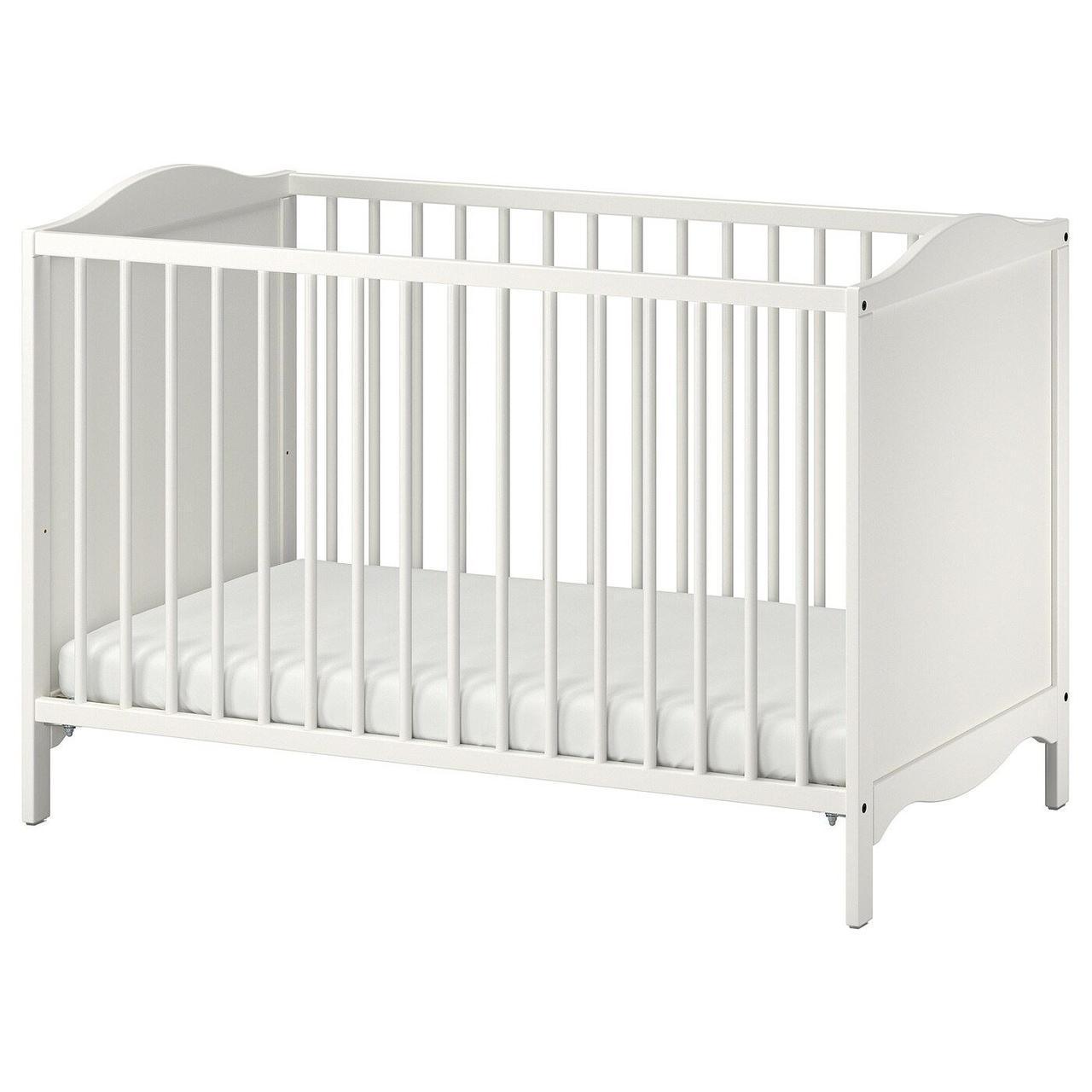 Кроватка детская IKEA SMÅGÖRA 60x120 см 504.612.30