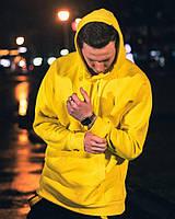 Тёплое худи унисекс Пушка Огонь Classic желто, фото 1