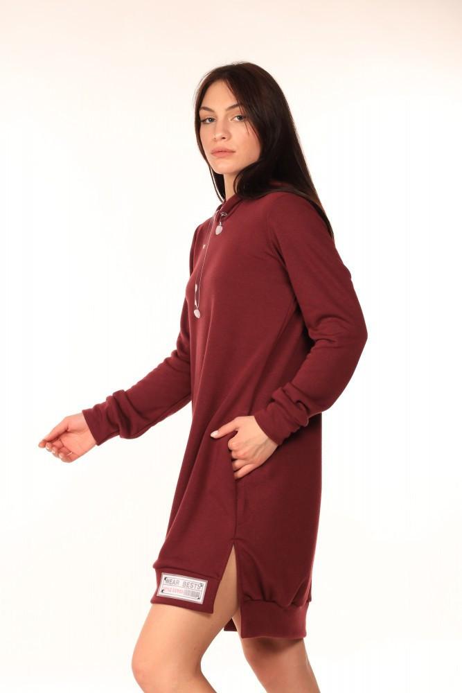 Платье-Туника Quest Wear бордо