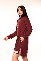 Платье-Туника Quest Wear бордо, фото 1