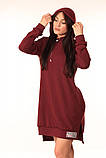 Плаття-Туніка Quest Wear бордо, фото 4