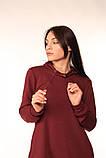Платье-Туника Quest Wear бордо, фото 5