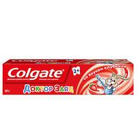 Colgate Доктор Заяц детская зубная паста /2+лет/ 50 мл со вкусом клубники
