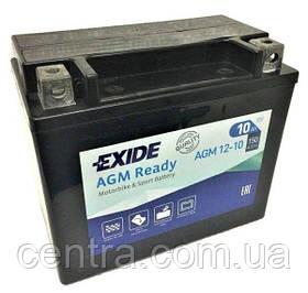 Мото аккумулятор EXIDE AGM12-10
