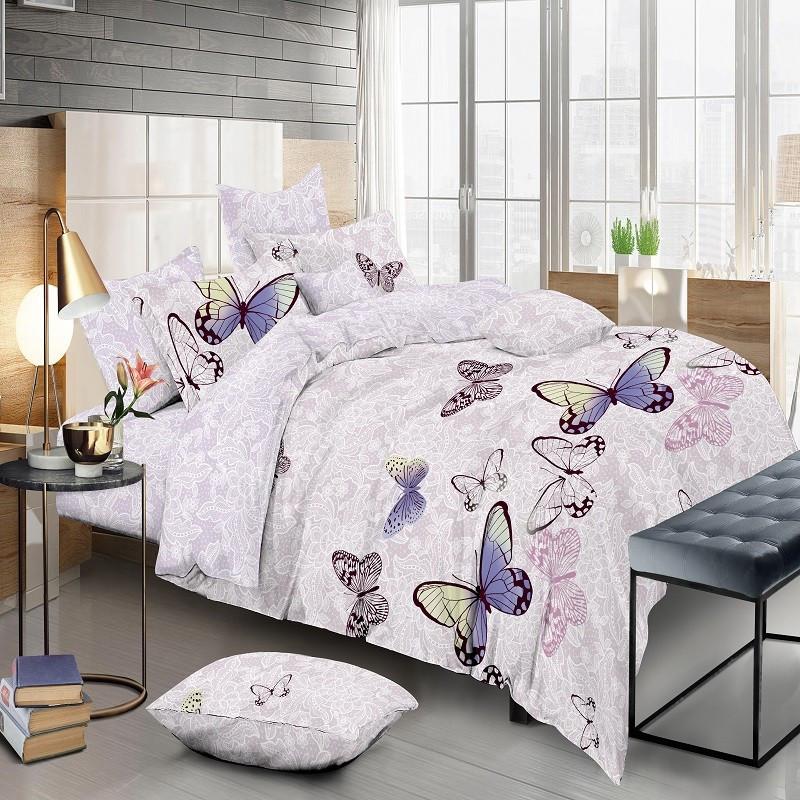 Сатин Цветные бабочки (верх бабочки)