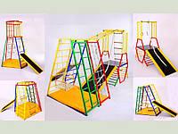 """Дитяча Шведська стінка """"ДСК Трансформер 5 в 1"""" ( спортивний куточок ), фото 1"""