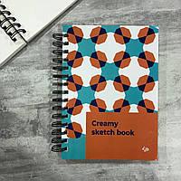 Скетчбук А5 160 стр. 160 г/м2 з чистими сторінками