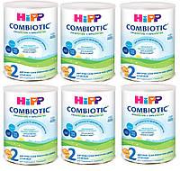 Детская сухая молочная смесь HiPP Combiotiс 2 , 6х750 г