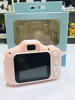 Детский противоударный фотоаппарат с селфи, камера с видео функциями,Kids Camera c дисплеем