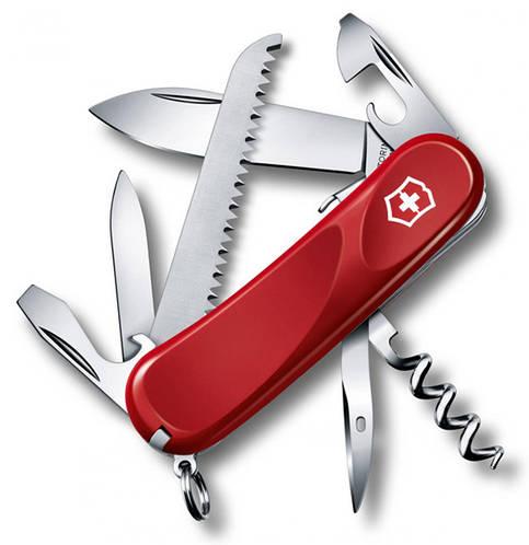 Швейцарский складной нож Victorinox Evolution S13, 23813.SE красный