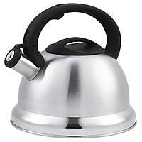 Чайник Unique  со свистком UN-5305 Black 3,5л