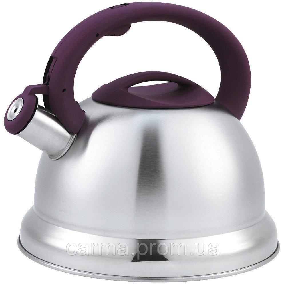 Чайник Unique  со свистком UN-5305 Violet  3,5л