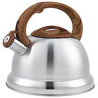Чайник Unique  со свистком UN-5305 Brown 3,5л