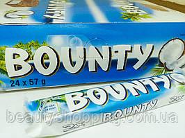 Bounty Баунти шоколадный батончик 24шт 57гр