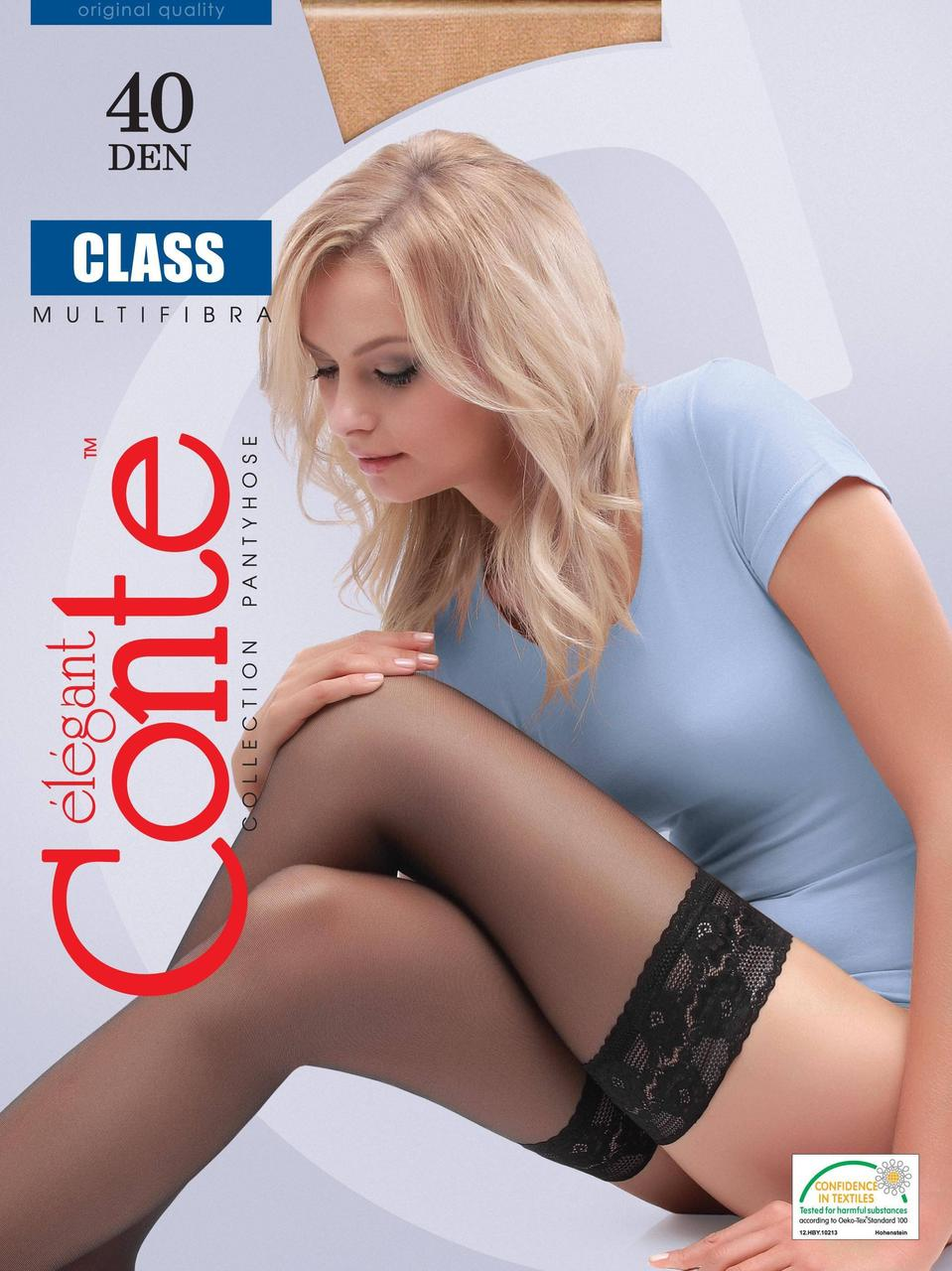 Чулки женские Conte CLASS 40 ден